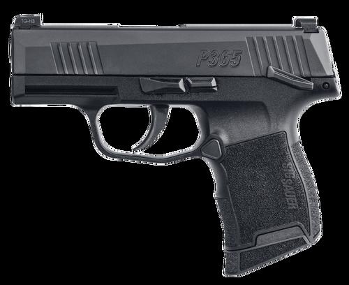 "Sig P365 *MA*, 9mm, 3.1"" Barrel, 10rd, X-Ray3, Manual Safety, Black"