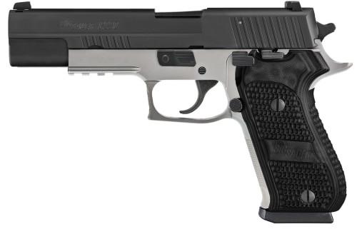 "Sig P220 Match Elite 10mm, 5"" Barrel, Night Sights, DA/SA, Black/Stainless, 8rd"