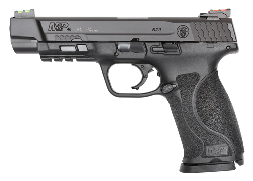 "Smith & Wesson M&P M2.0 Performance Center 40 S&W, 5"" Barrel, 15rd, Black"