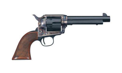 "Uberti 1873 El Patron, .357 Mag, 5.5."" 6rd, Checkered Walnut Grips, Case-Hardened"