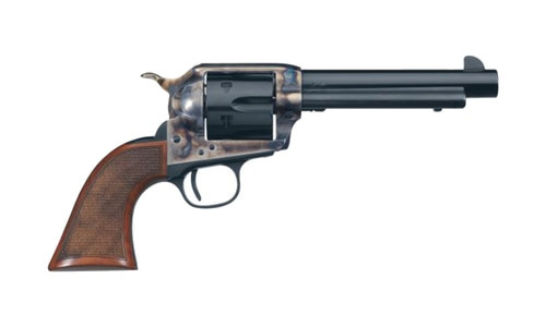"Uberti 1873 El Patron Competition, .45 Colt, 4.75"" Barrel, 6rd, Blued, Case-Hardened"