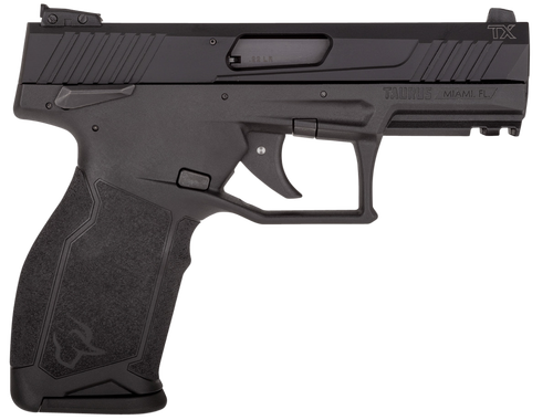 "Taurus, TX22 Semi-automatic Pistol, 22 LR, 4"" Barrel, Black Polymer Frame, Adjustable Sights, Manual Safety, 10Rd, 2 Magazines"
