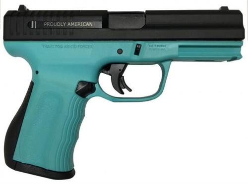 "FMK 9C1 G2, 9mm, 4"", 10rd, Fast Action Trigger, Tiffany Blue"