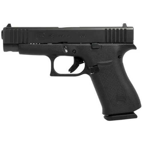 "Glock G48 9mm, 4.17"" Barrel, 10rd Mag, Black, Fixed Sights"