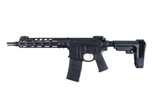 "Noveske Gen4 LG Shorty Pistol, .223/5.56, 30rd, 10.5"", SBA3 Pistol Brace, Black"