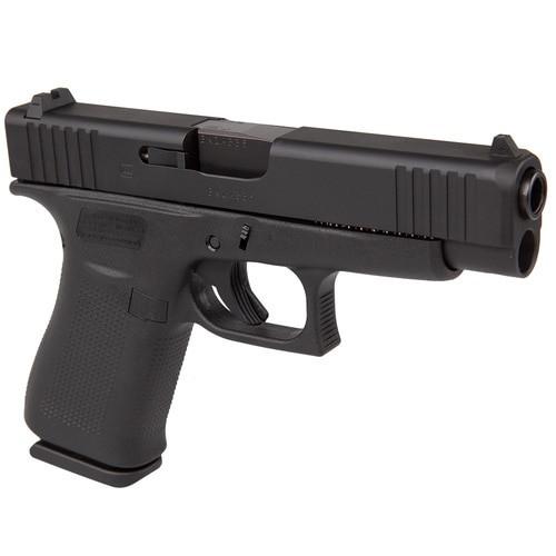 "Glock, 48, Striker Fired, Compact, 9mm, 4.17"" Barrel, Polymer Frame, Black, 10Rd, 2 Mags, Glock Night Sights"