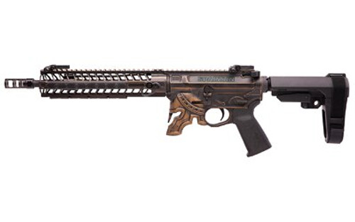 "Spikes Rare Breed Spartan AR-15 Pistol, 5.56/.223, 11.5"", 30rd, M-Lok, Bronze Battleworn Finish, No Mag"