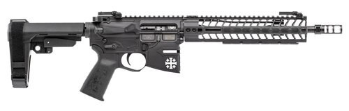 "Spikes Rare Breed Crusader,AR-15 Pistol 5.56/.223, 11.5"", No Magazine, Black"