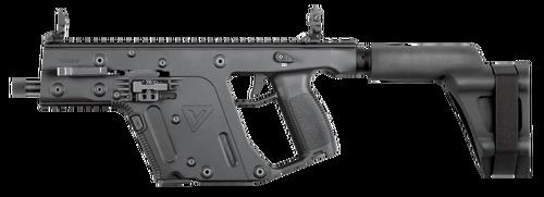"""Kriss USA Vector Gen II SDP SB AR Pistol, 9mm, 6.5"""", 17rd, Black"""