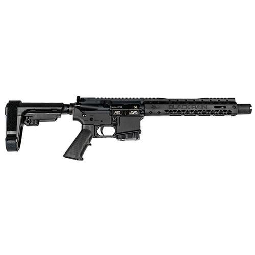 """Black Rain Ordnance Spec15 Pistol, .450 Bushmaster, 10.5"""", SBA3 Pistol Brace, Black"""