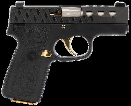 """Magnum Research M380, .380 ACP, 3"""" Barrel, 7rd, Tungsten Slide, Black"""