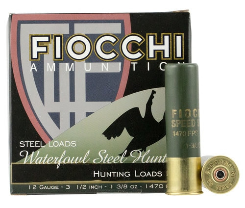"Fiocchi Speed Steel 20 Ga, 3"", 1-3/8oz, 1 Shot, 25rd/Box"
