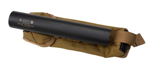 "Gemtech Dagger Suppressor, .300 Win Mag, 8.8"", 5/8-24, Black, DISPLAY MODEL"