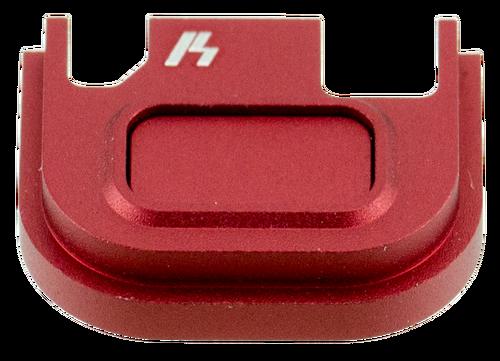 Strike Glock V1 Slide Cover Plate Glock 17-39 Aluminum Red