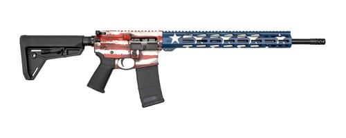 "Ruger AR-556 MPR, 5.56/.223, 18"" Barrel, 30rd, MOE SL Stock, American Flag"