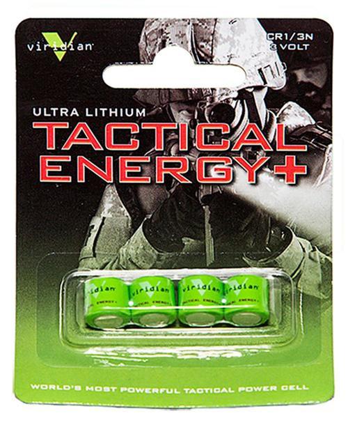 Viridian 1/3N 3V Lithium Battery 4 Pack