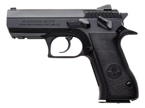 "IWI USA Jericho 941 FS9, 9mm, 3.8"" Barrel, 10rd, SA/DA, Black"