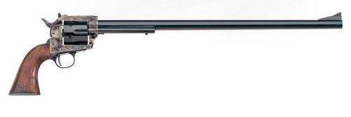 "Uberti 1873 Cattleman Buntline Target, . 45 Colt, 18"", 6rd, Walnut, Case-Hardened"