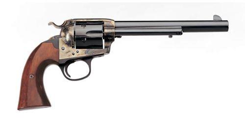 "Uberti 1873 Cattleman Bisley, .45 Colt, 7.5"" Barrel, 6rd, Case-Hardened"