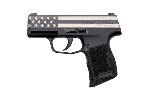 "Sig P365 FreedomStars and Stripes  Edition 9mm, 3"" Barrel, Sig XRay3 Night Sights, 10rd Mag"