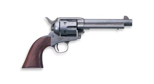 "Uberti 1873 Cattleman Old West, .357 Mag/38 Spl, 5.5"" Barrel, 6rd, Walnut, Old West Antique Finish"