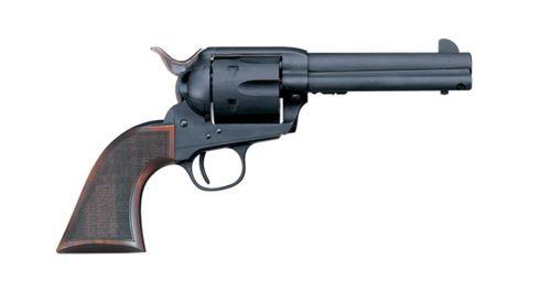 "Uberti 1873 Cattleman Chrishol, .45 Colt, 4.75"", 6rd, Walnut, Matte Black"