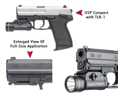 GG&G HK USP Flashlight Adapter-Compact