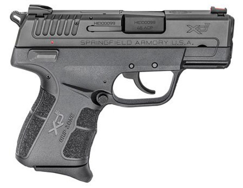 """Springfield XD-E Instant Gear Up Package, .45 ACP, 3.3"""", 6rd, Black"""