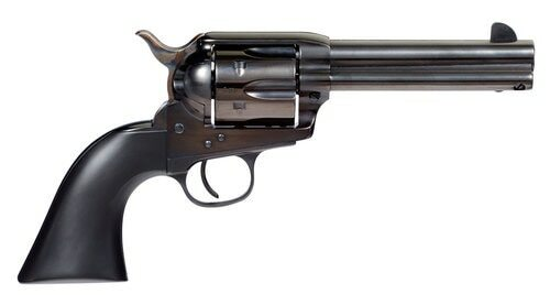 "Taylors Devil Anse, .45 Colt, 4.75"" Barrel, 6rd, Black Wood Grips, Black"