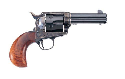 "Uberti 1873 Cattleman Birdhead, .45 Colt, 4.75"", 6rd, Walnut, Case-Hardened"