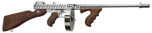 "Thompson 1927-A1 Deluxe, .45 ACP, 16.5"", 20rd, American Walnut, Hard-Chrome /w Tiger Stripe"