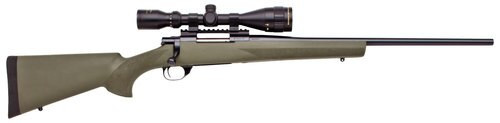 "Howa Hogue, 6mm Creedmoor, 22"", 4rd, 3.5-10x44mm Gameking Scope, Blued, Green"