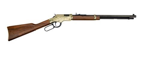 """Henry Golden Boy Cody Firearm Museum 22 LR, 20"""" Barrel, Walnut, Blued, 16rd"""