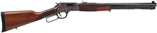 """Henry Repeating Arms, Big Boy Color Case Hardened, Lever Action, 44 Mag/44 Special, 20"""" Octagon Blued Steel Barrel, Straight-grip American Walnut Stock, Fully Adjustable Semi-Buckhorn Sights, 10 Round"""