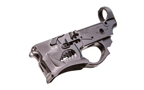 SHARPS BROS LLC Warthog Stripped Lower AR-15 Multi-Caliber Black Hardcoat Anodized