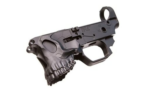 SHARPS BROS LLC The Jack Stripped Lower AR-15 Multi-Caliber Black Hardcoat Anodized