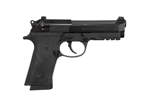 "Beretta 92X Centurion 9mm, 4.3"" Barrel, DA/SA, Decock-Only, Black, 15rd"