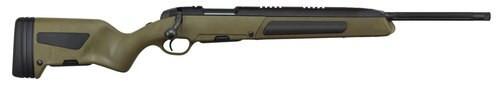 "Steyr Scout 6.5 Creedmoor, 19"" Barrel, Polymer OD Green Stock, Black, 5rd"