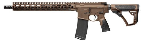 "Daniel Defense DDM4 V11 *CO Compliant* .300 Blackout, 16"" Barrel, Mil-Spec Brown, No Mag"