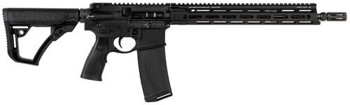 "Daniel Defense DDM4 V7 SLW 5.56/.223, 14.5"" Barrel, 6-Pos Stock, Black, 30rd"