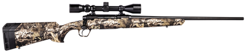 "Savage Axis XP Camo, 350 Legend, 18"" Barrel, Black Color, Mossy Oak Break-Up Country Polymer Stock, Weaver 3-9x40 Scope, 4Rd, Detachable Box Magazine"