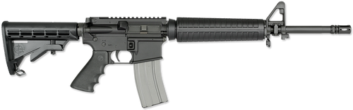 "Rock River Arms LAR-15 Elite CAR A4 AR-15 223/5.56 16"" Chrome Lined Barrel, 6-Position Black Stock, 30rd Mag"