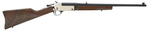 "Henry Singleshot .357 Mag, 22"" Barrel, Wood Stock, Brass Receiver, Blued Barrel"