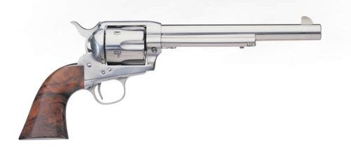 "Uberti 1873 Cattleman Stainless .45 Colt, 5.5"" Barrel, Walnut Grip, 6rd"