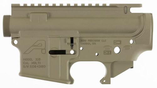 Aero Precision AR-15 Stripped Receiver Set, Flat Dark Earth