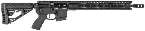 """Diamondback DB15 Elite, CA Legal, .223 Rem, 16"""" Barrel, Tactical EX Stock, Black, 10rd"""