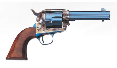 "Uberti 1873 Cattleman .45 Colt, 7.5"" Barrel, Walnut Grips, Charcoal Blue, 6rd"