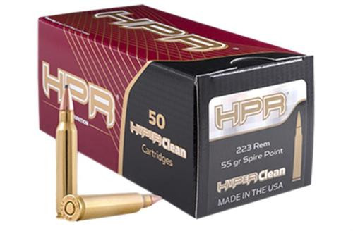 HPR Ammunition 223055SP 223 Rem/5.56 NATO Soft Point 55 gr, 50rd/Box, 20 Box/Case