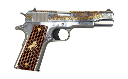 "Colt Dragon 1911 .38 Super, 5"" Barrel, 1 of 500 Special Serial Number, 9rd"