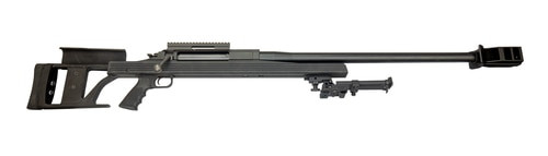 "Armalite AR-50A1 .50 BMG, 30"" Barrel, GGG Bipod, Aluminum Stock, Black, Display Model"